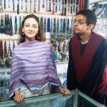 Saumya Tandon with her husband