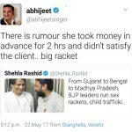 Abhijeet Twitter Row