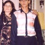 Hiten Tejwani with his mother Asha