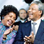 Winnie Mandela with Nelson Mandela