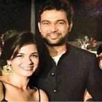 Ali Abbas Zafar with his girlfriend Leepakshi Ellwadi