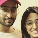 Erica Fernandes With Shaheer Sheikh