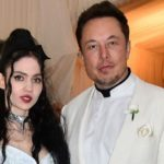 Elon Musk With His Girlfriend, Grimes