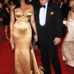 Padma Lakshmi with Ted Forstmann