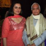 Padmini Kolhapure with her Father