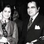 Padmini Kolhapure with her Filmfare Award