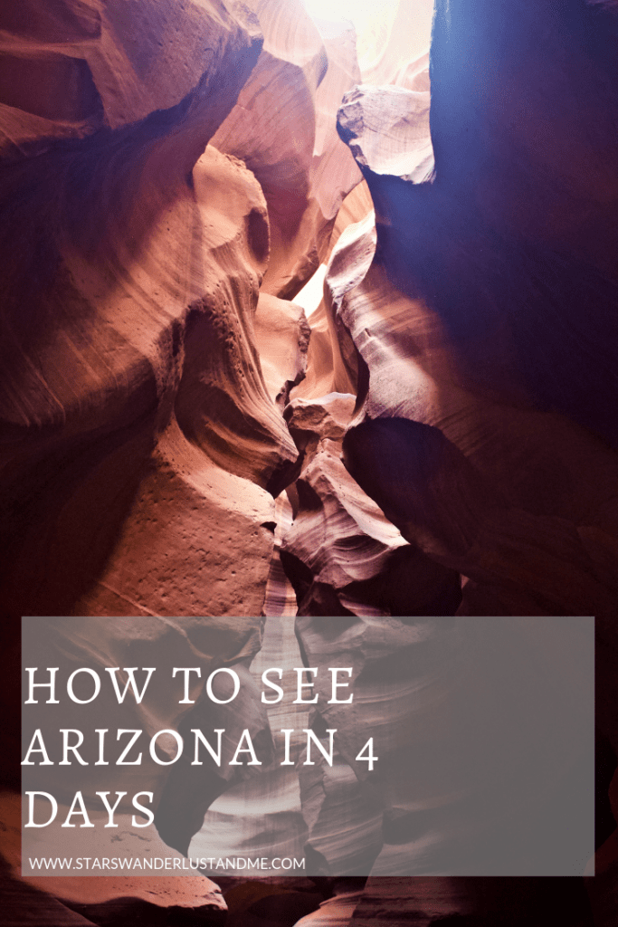 how to see arizona in 4 days