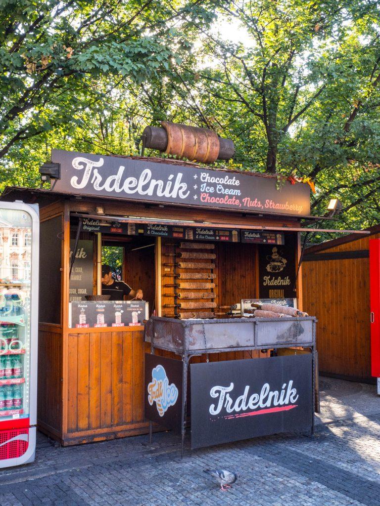 Trdelnik stand Prague