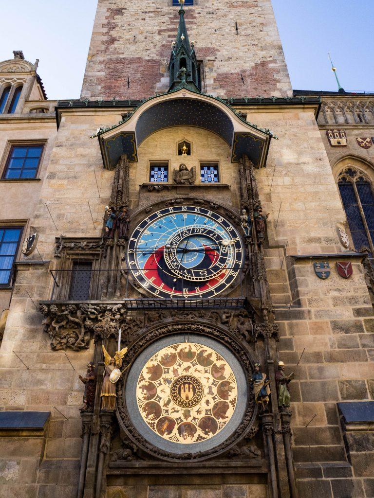 Astronomical clock old town Prague