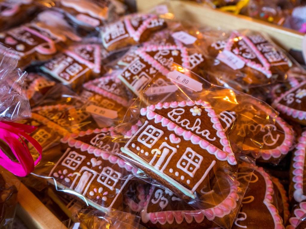 Gingerbread houses in Prague