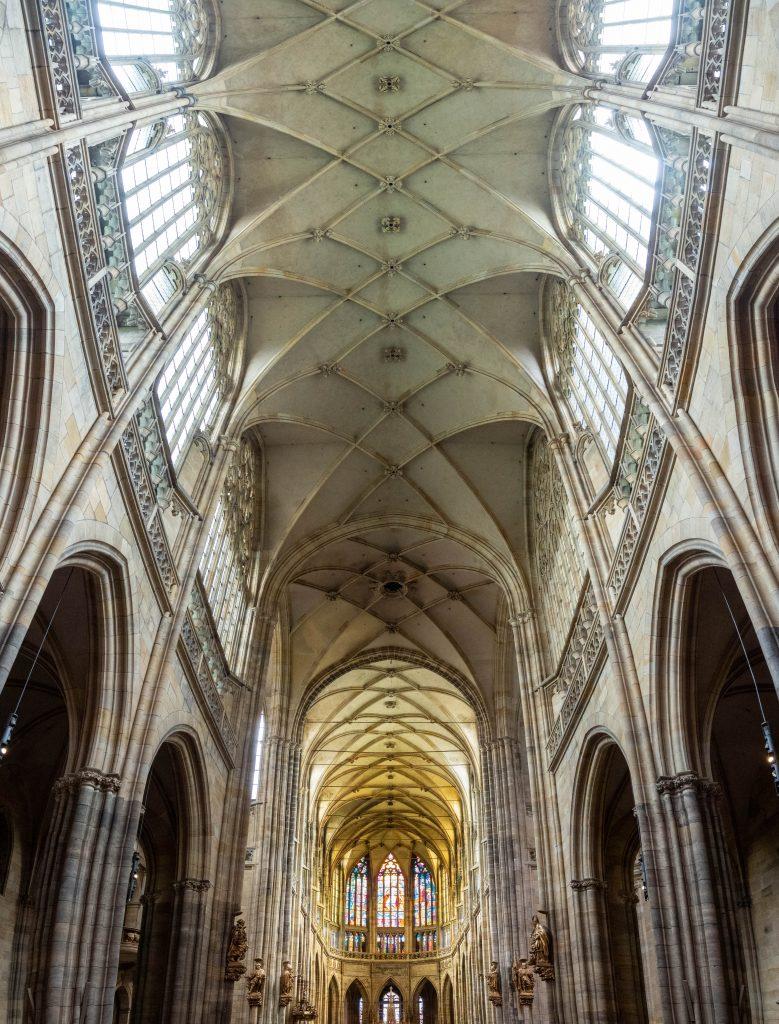St. Vitus cathedral Prague interior