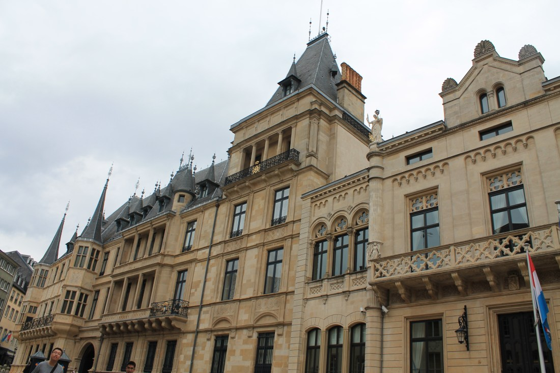 Grnad Ducal Palace Luxembourg