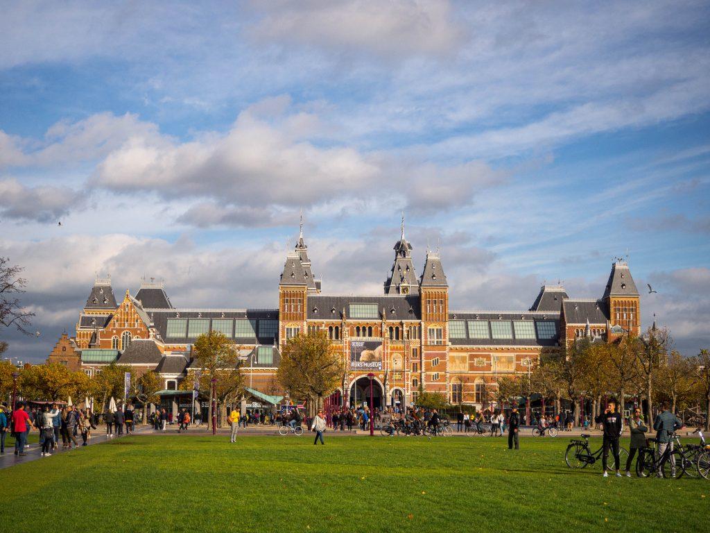 Amsterdam photo Rijksmusuem facade