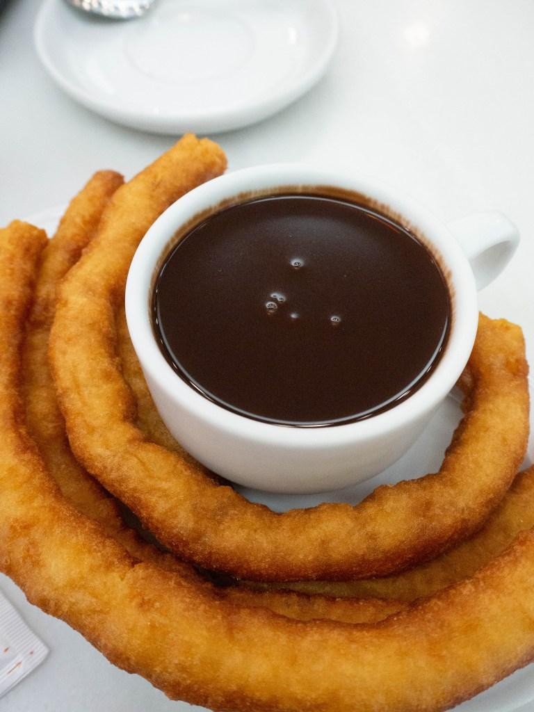 Churros from Chocolateria Valor
