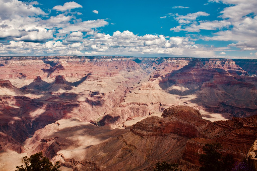 Mather Point Grand Canyon arizona road trip