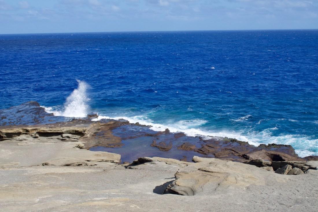 Halone Blowhole Oahu Hawaii