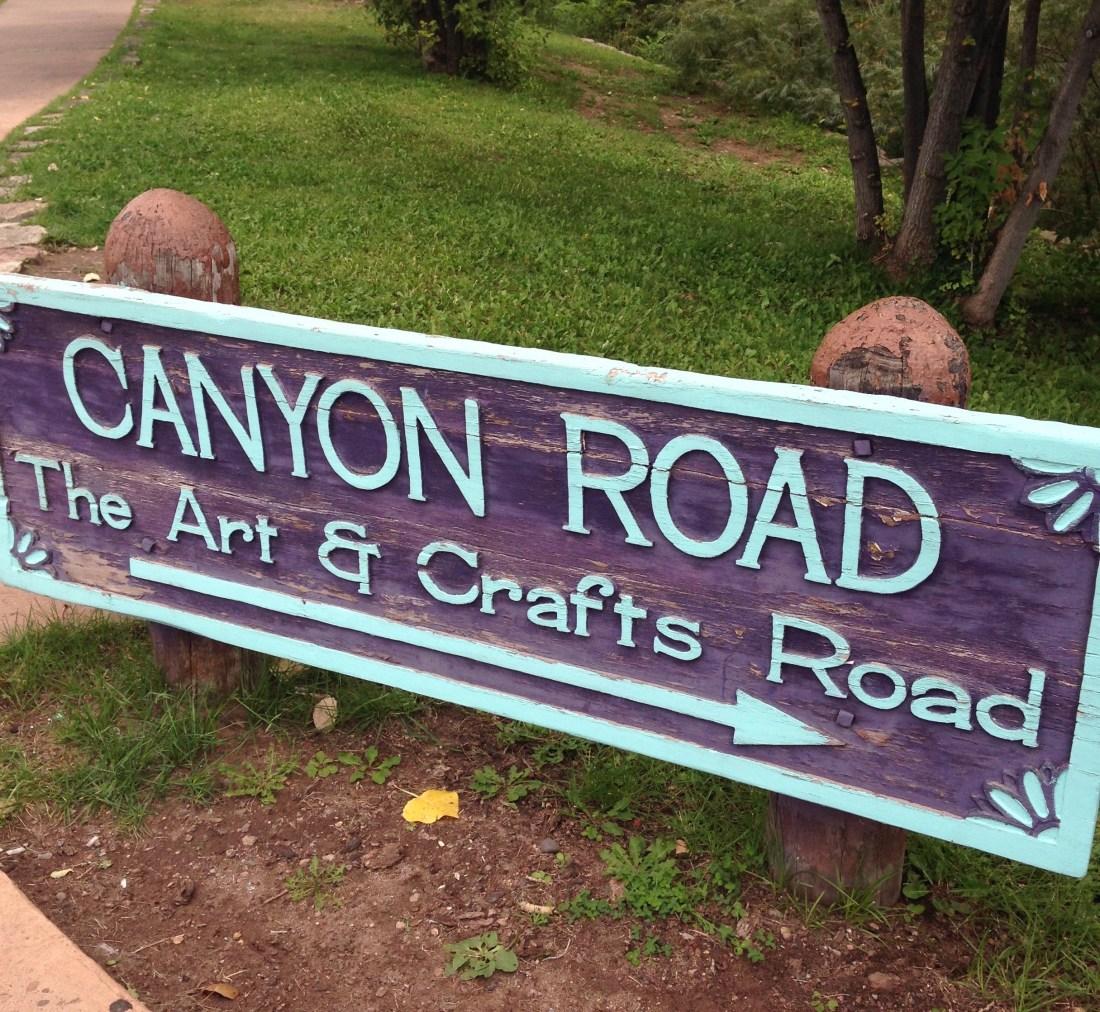 Santa Fe Canyon Road
