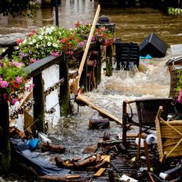 Verzekeraars zeggen meeste schade van regenval Limburg te vergoeden