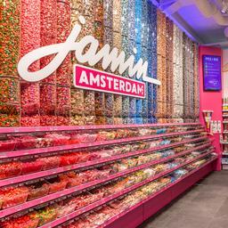 Oer-Hollandse snoepwinkelketen Jamin gaat voor het eerst de grens over