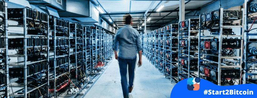 Wat is de rol van miners in een bitcoin transaction?