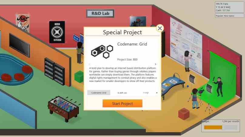 Review: Game Dev Tycoon (PC): Dreams of a Digital Empire