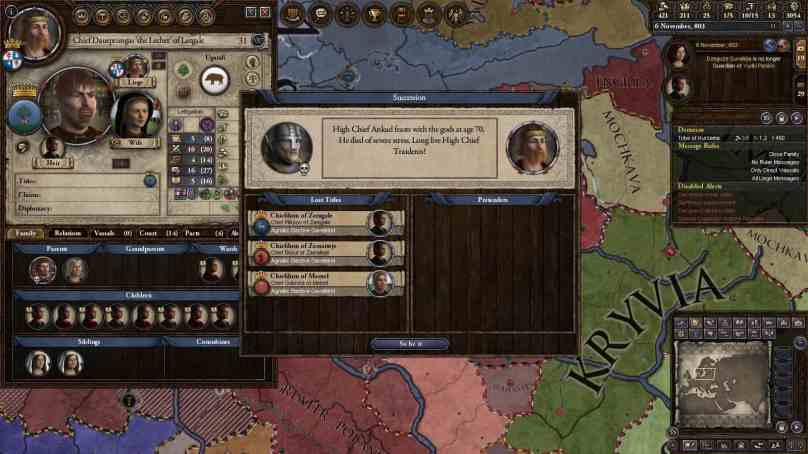 5 Reasons Why You Keep Dying in Crusader Kings II