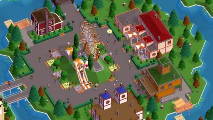 Early Access Preview: Parkitect