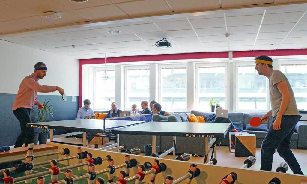 SUP46 erbjuder förmånliga kontorsplatser och en spännande atmosfär till Stockholmsbaserade startups. Inkubatorn grundades av Jessica Stark, Sebastian Fuchs och Nathalie Nylén, och lanserades i oktober 2013.