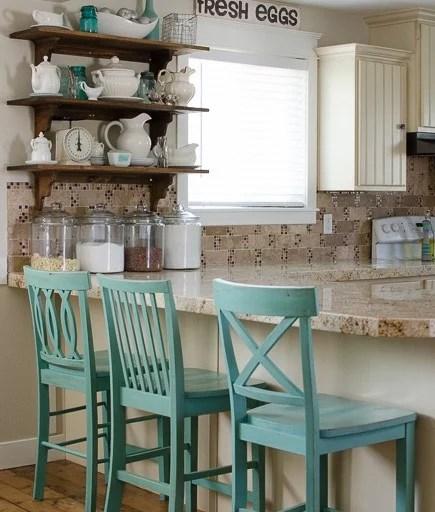 mobile home kitchen remodel pacific fan diy open shelves!   start at decor