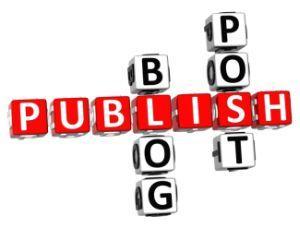 How often should I publish blog posts