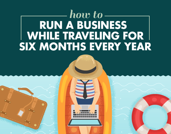 How to Run A Business While Traveling For Six Months Every Year