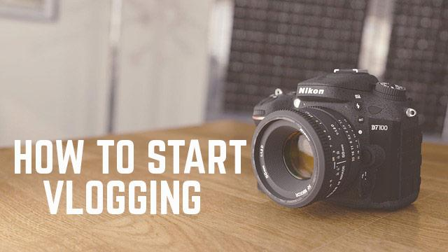 How to start vlogging