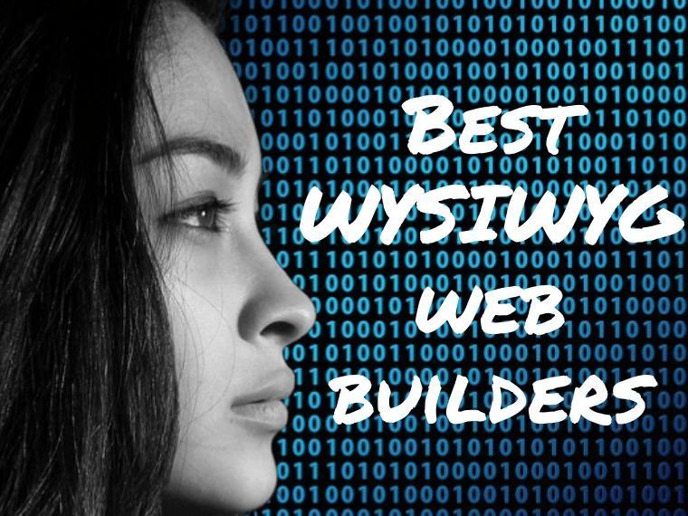 Best WYSIWYG Web Builders