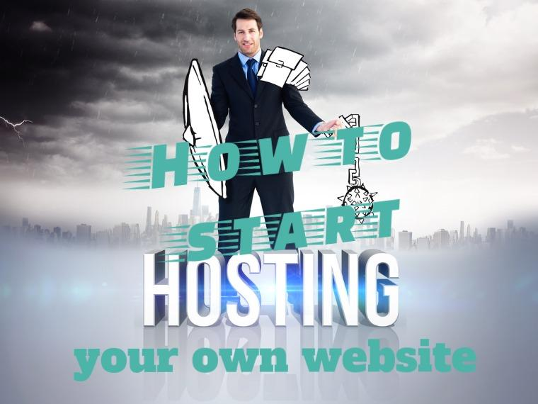 How to host a website of your own
