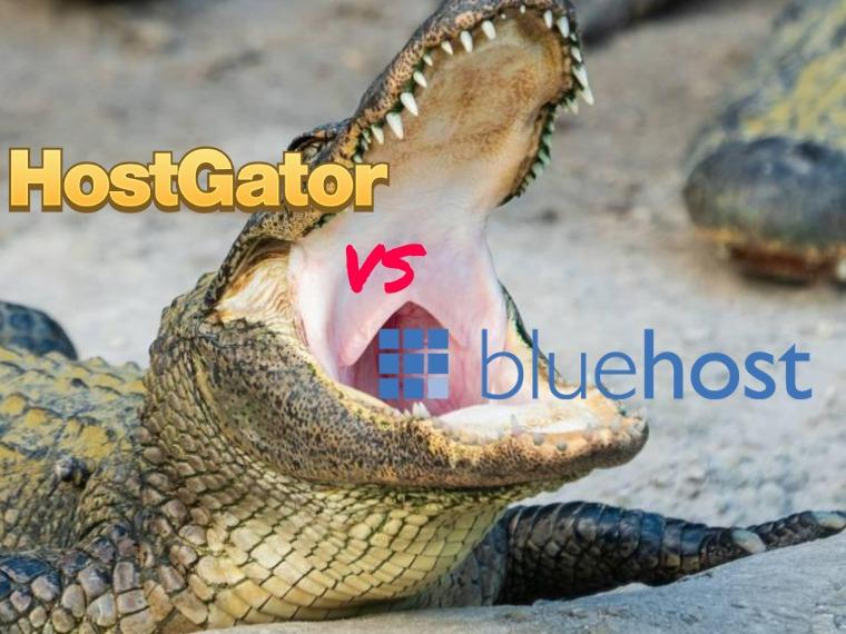 Compare BlueHost vs HostGator