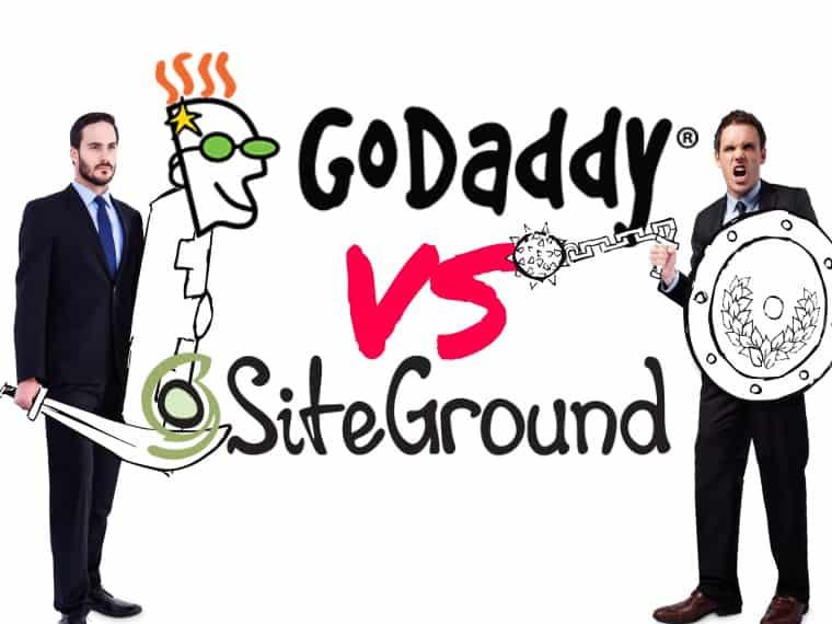 SiteGround vs GoDaddy