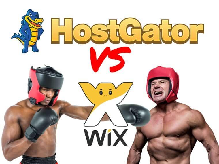 HostGator vs Wix