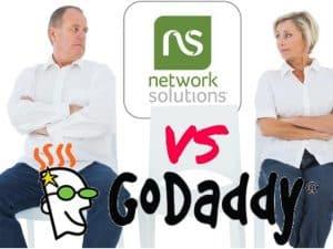 Network Solutions vs GoDaddy