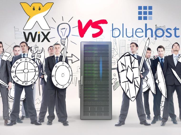 Wix vs BlueHost