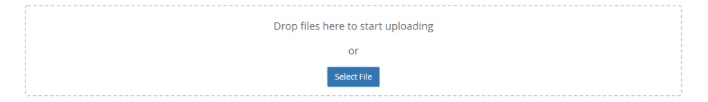 Select your theme zip file