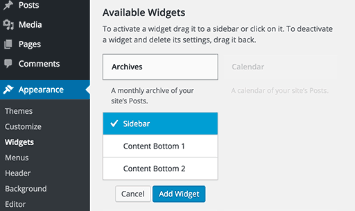 how-to-use-widgets-in-the-sidebars-3