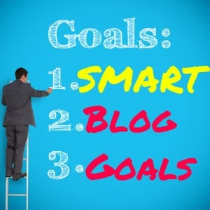 Examples of SMART blog goals to set