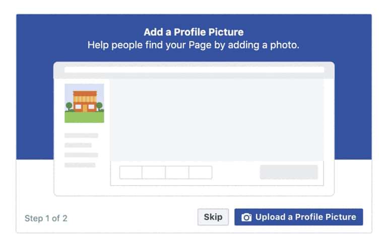 How to add a Facebook profile picture