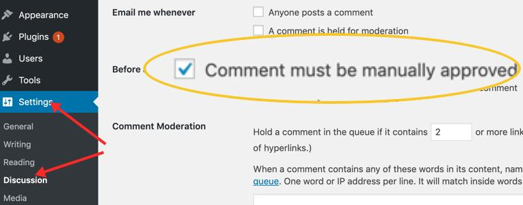 How to stop spam comments on my WordPress blog