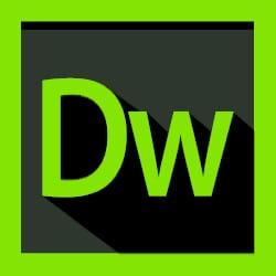 DreamWeaver website building program