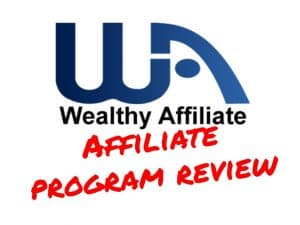 Wealthy Affiliate affiliate program review