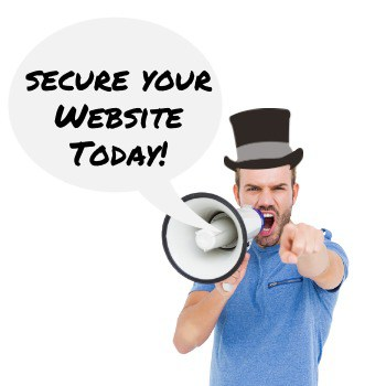 Install website security features now!