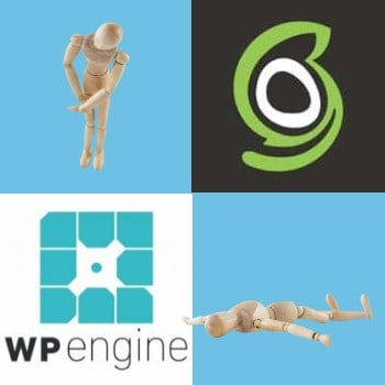 WP-Engine versus SiteGround's hosting