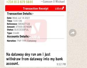 dataway withdrawal proofs