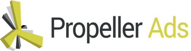 Best Ad network for bloggers - Propeller Ads logo